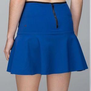 Lululemon get it on scuba skirt